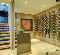 Frameless Wine Room