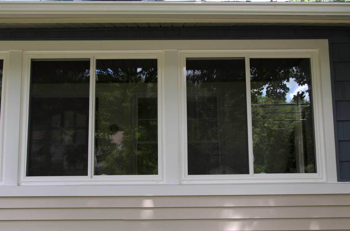 Grecian Sliding Windows