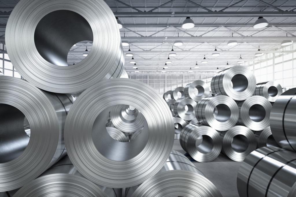 Aluminium steel rolls