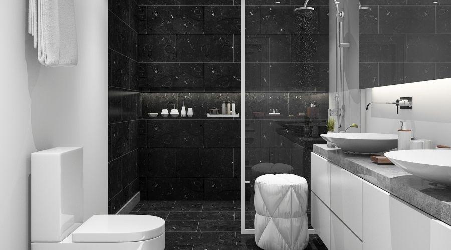 The Modern Look - Walk in Shower