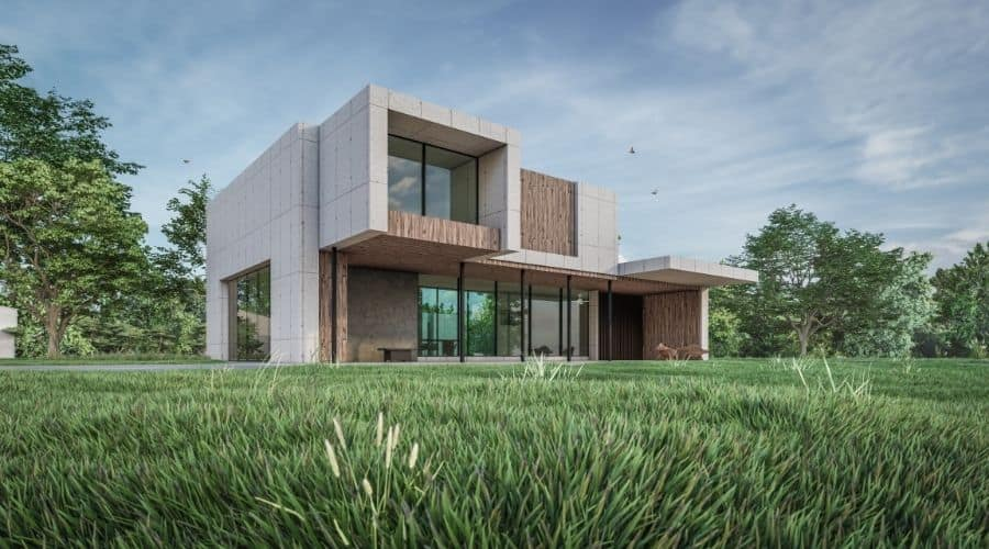 Several elements that impact green housing