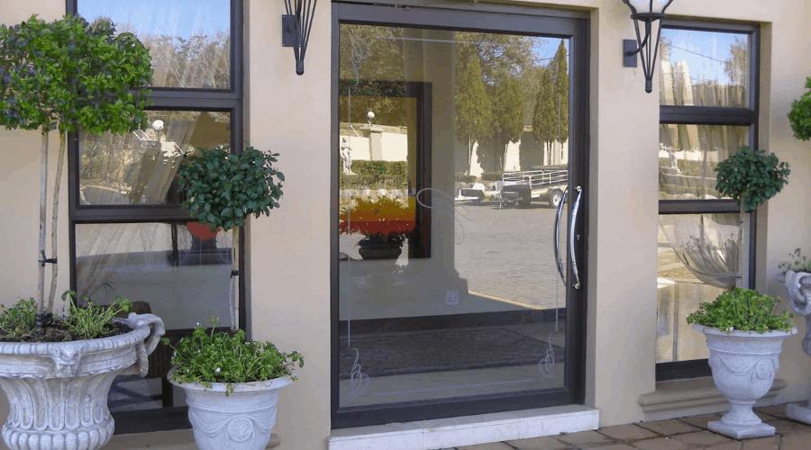 pivot aluminium door designs